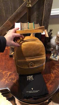 Frye Mini leather backpack  Silver Spring, 20906