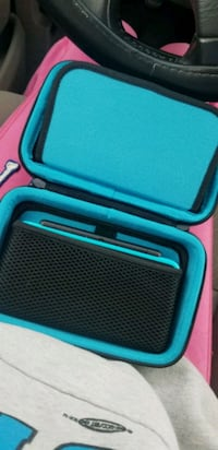 blue and black 2ds xl