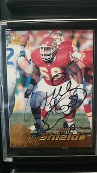 Will Shields Autographed card Lee's Summit, 64064