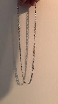 "19"" Sterling Silver Necklace Cambridge, N1R 7B6"