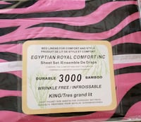 Egyptian royal comfort 3000 bamboo sheet set New Tecumseth, L9R