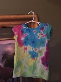 purple and green tie-dyed crew-neck t-shirt Littlestown, 17340