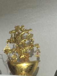 Money tree... gold in color.