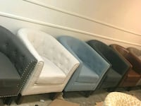 assorted-color leather sofa chairs Stockton, 95206