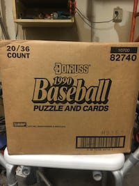 1990 baseball cards/all cards from1990 Las Vegas, 89108