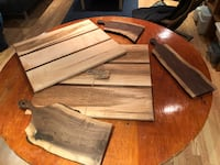 Maple and walnut boards Vaughan, L4H