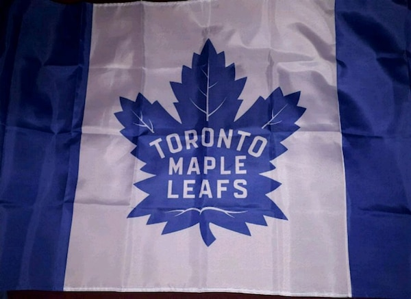 93fb0d140a3 Used Toronto Maple Leafs flag (Brand New) for sale in Brampton - letgo