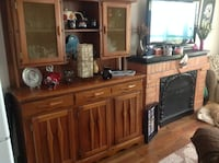 Dining room set with six chairs extension for table & hutch Galway-Cavendish and Harvey