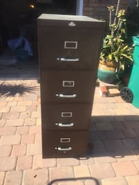 4-drawer filing cabinet Melbourne, 32901