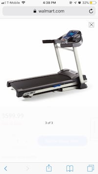 black and gray automatic treadmill Springfield, 22151