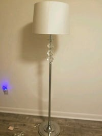 Silver & crystal stand up accent lamp Jacksonville, 32209