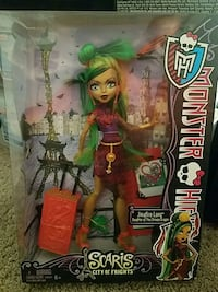 The monster high action figure Henderson, 89015
