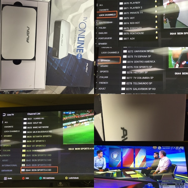 Avov cable tv streaming box watch new movies tv shows sports ppv