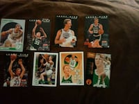 Lot of 8 LARRY BIRD Basketball cards Doyle, 38559