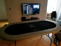 REDUCED Home poker table chairs and accessories Toronto, M1N 1J5