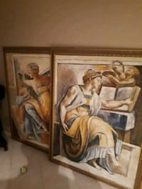 2 large paintings Vaughan, L6A 2E3