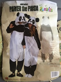 Adult Panda Costume clean - worn once smoke free home Southborough, 01772