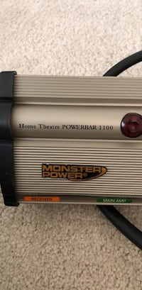 Monster Power Home Theater Power Bar 1100-   Power outlet/ surge supressor Bethesda, 20814