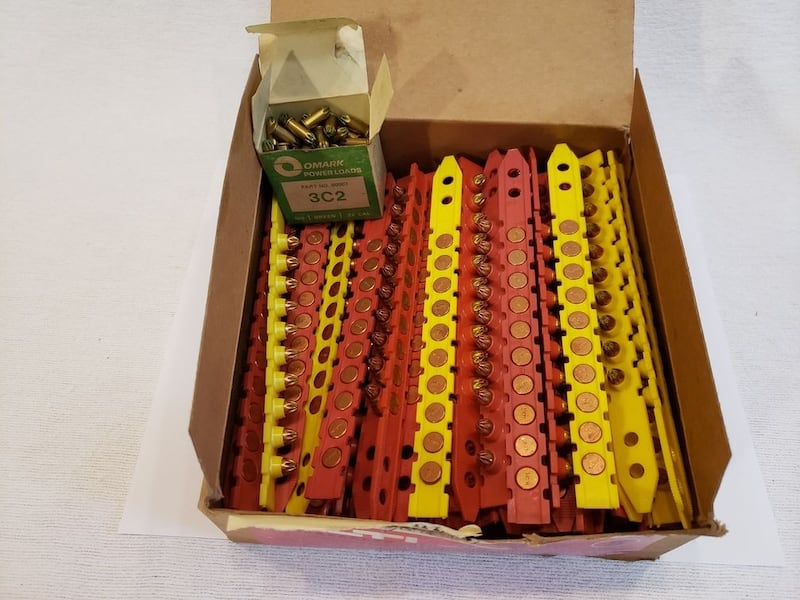 9 Yellow + 67 Red Lot of Hilti Cal.  (Phone number hidden by letgo) 04842 Cal. 27 Short #5  6856dc56-66ba-4692-bf98-b95a94725093