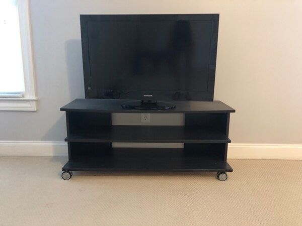 3 Tier Wood TV Stand