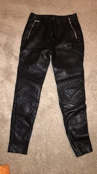 ZARA BASIC Leather Pants Potomac, 20854