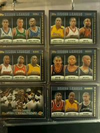 2000-01 topps basketball card collection