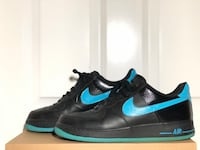 Nike Classic Air Force 1 Blue and Black (size 11 men) Arcadia, 91007