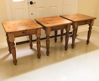 Brand New .Never Used Pottery Barn Tables Fairfax, 22033