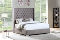 Brand New Queen 6 FT bed frame (king bed frame, king mattress, box spring available) Furniture Houston, 77074