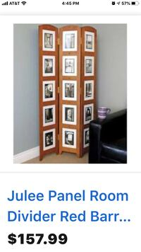 Three panel photo or a room divider