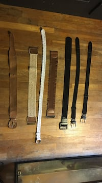 Black and brown leather belts Sturgis, 49091