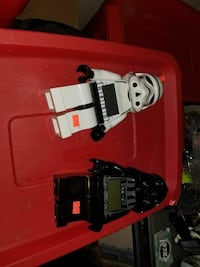Storm Trooper and Darth Vader minifigs Winnipeg, R2K 1P4