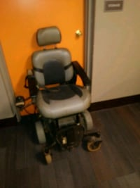 brown and black electronic wheelchair Detroit, 48201