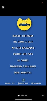 On rim tire installs and auto repair Mississauga
