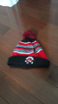 Black, red, and yellow knit cap Vaughan, L4J 9K9