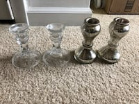 Two pairs of candlesticks $5 Arlington, 22204