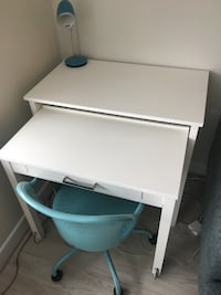 Writing desk with full-extension and chair Washington