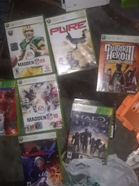 Xbox 360,Xbox,  and PlayStation games.