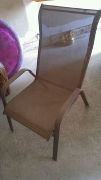 brown wooden framed padded armchair Mississauga, L5M 7P5