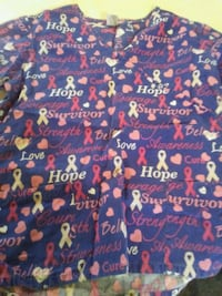 blue and red floral textile Canton, 44707