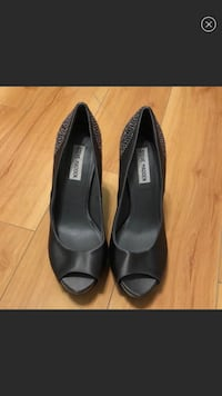 Steve Madden High Heel with Gems on the heel (Size 8.5) WORN ONCE  Asbury Park, 07712