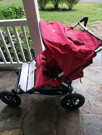 baby's red and black stroller Middleburg, 20118