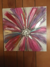 pink and white petaled flower painting Kernersville, 27284