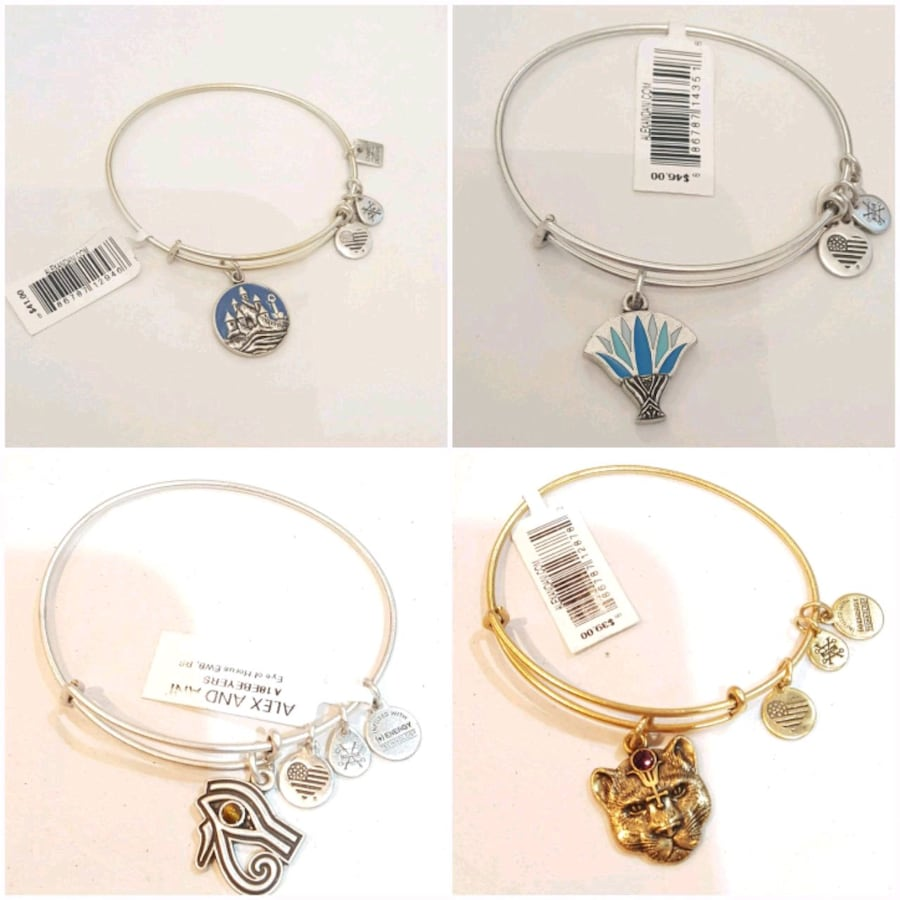 Authentic New Alex and Ani Bracelets