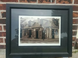 Professional matted print