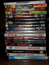 Assorted dvd collection Oklahoma City, 73120