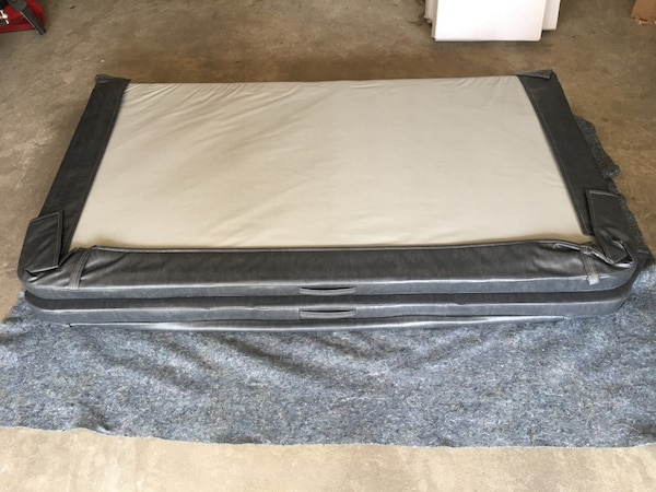 Hot tub cover 80 x 74 inches 4 to 3 taper, never used. Paid 600. c4e4cc36-23dc-49ef-a68f-0047a73bfe52