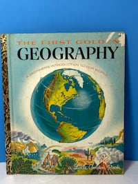 Vintage 1955 Little Golden Book THE FIRST GOLDEN GEOGRAPHY Apparent 1st Edition