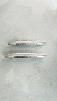 Stock mufflers for 1200 Sporty Harley