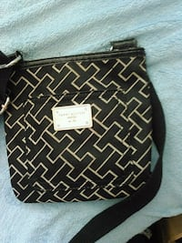 black and white leather crossbody bag Calgary, T2A 5G4